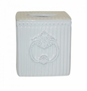 Skyros Designs Crista Bath Tissue Holder White