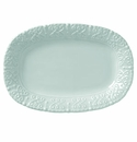 Skyros Designs Historia Small Oval Platter - Barely Blue