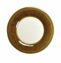 Skyros Designs Joya Salad Plate with White Center - Amber