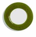 Skyros Designs Joya Salad Plate with White Center - Peridot