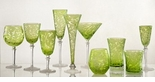 Skyros Designs Lauren Collection Glass Compote - Green