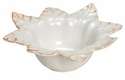 "Skyros Designs Leaf Collection Small Bowl - Polished Sand 7"" x 3.5"""