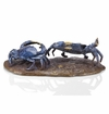 Sly Scuttlers Crab Pair Sculpture by SPI Home