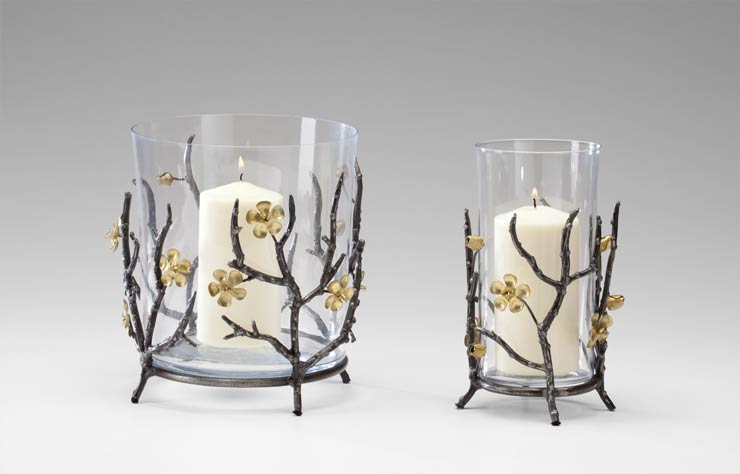 Small Botanica Candle Holder By Cyan Design
