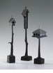 Small Bronzed Iron Bird House (Medium and Large Birdhouses are Sold Separately)