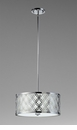 Small Dauphine Iron Pendant Light by Cyan Design