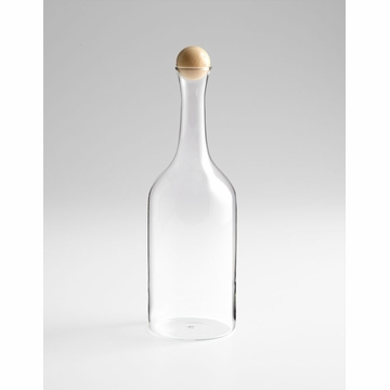 Small Decanter With Wood Stopper by Cyan Design