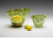 Small Francisco Green Art Glass Bowl by Cyan Design
