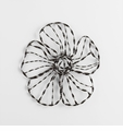 Small Iron Flower Wall Decor by Cyan Design