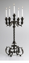 Small Iron Table Candelabra by Cyan Design