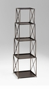 Small Surrey Bronzed Iron Etagere by Cyan Design
