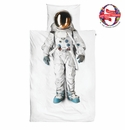 Snurk Astronaut Duvet Cover and Pillowcase - Twin