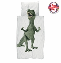Snurk Dino Duvet Cover and Pillowcase - Twin