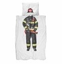 Snurk Firefighter Duvet Cover and Case - Twin