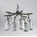 Somerset 6 Light Chandelier by Cyan Design