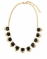 "Spartina 449 Anne Gem Necklace 18"" Black"