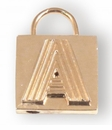 Spartina 449 Jewelry A Padlock Letter