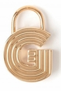 Spartina 449 Jewelry G Padlock Letter