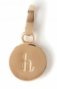 Spartina 449 Jewelry H Round Crystal Letter