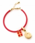 Spartina 449 Jewelry Leather Cord Red Soft Calf (Charms Sold Separately)