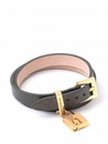 Spartina 449 Jewelry Leather Wrap Black Pearl Sheepskin (Charms Sold Separately)
