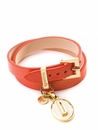 Spartina 449 Jewelry Leather Wrap Red Sheepskin  (Charms Sold Separately)