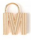 Spartina 449 Jewelry M Padlock Letter