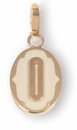 Spartina 449 Jewelry O Oval Cartouche Letter