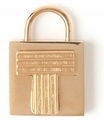 Spartina 449 Jewelry T Padlock Letter