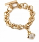Spartina Textured Toggle Bracelet