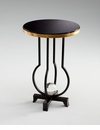 Sphere Iron And Granite Side Table by Cyan Design