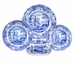 Spode Blue Italian 5 Piece Place Setting