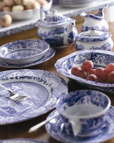 Spode Blue Italian Casual Dinnerware - Save 35% & Spode Blue Italian Casual Dinnerware Collection