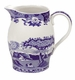 Spode Blue Italian Liverpool 58 Oz Pitcher / Jug