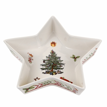 Spode Christmas Jubilee Large Star Tray