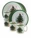 Spode Christmas Tree 12 Piece Dinnerware Promo Set