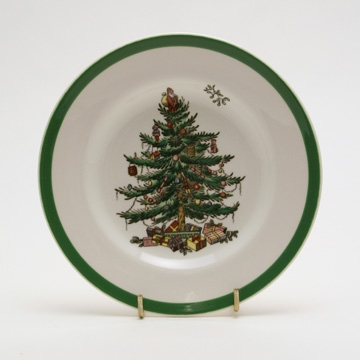 Spode Christmas Tree 8'' Salad Plate