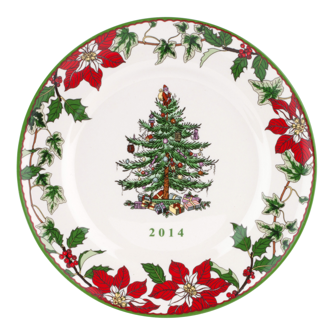 Spode Christmas Tree Annual Collector Plate 2014 $29.99, You Save $30 ...