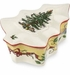 Spode Christmas Tree Annual Tree Shape Covered Box 5 In.