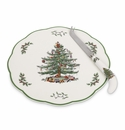 Spode Christmas Tree Appetizer Plate