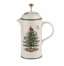 Spode Christmas Tree Cafetiere
