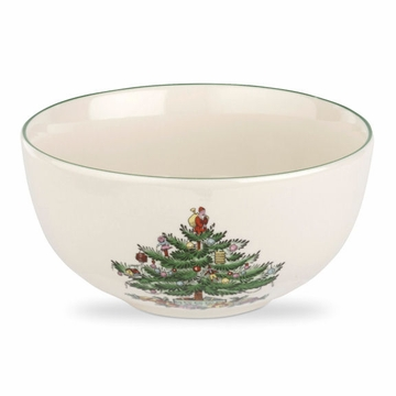 Spode Christmas Tree Fruit Salad Bowl
