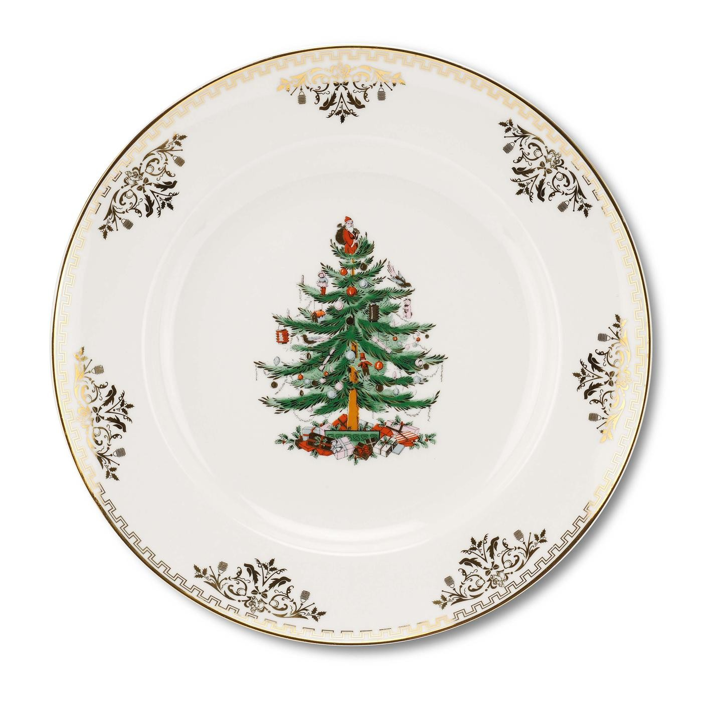 Spode Christmas Tree Gold Dinner Plate  sc 1 st  Distinctive Decor & Spode Christmas Tree Gold Dinner Plate $30 You Save $30.00