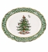 Spode Christmas Tree Gold Embossed Large Platter