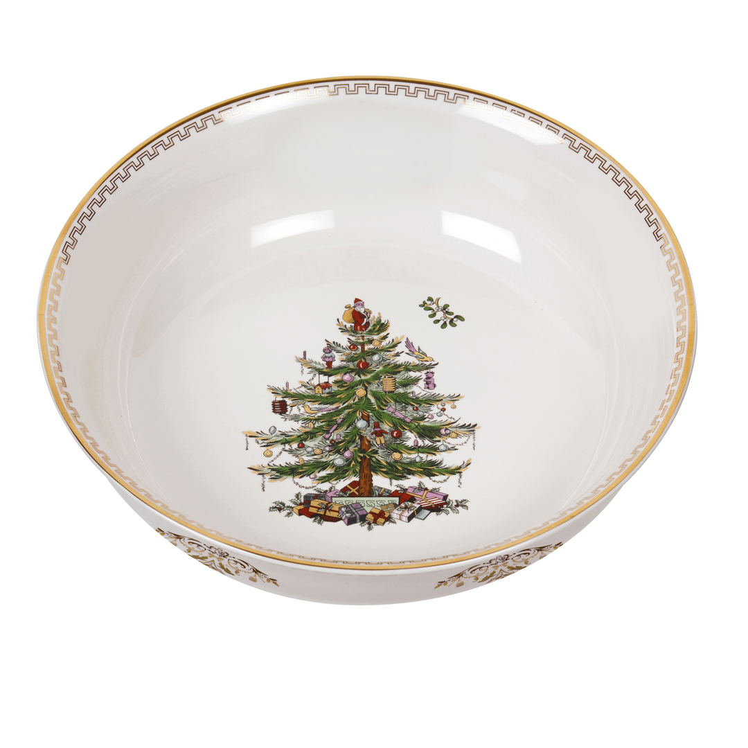 Spode Christmas Tree Gold Large Bowl  sc 1 st  Distinctive Decor & Spode Christmas Tree Gold Large Bowl $50 You Save $50.00