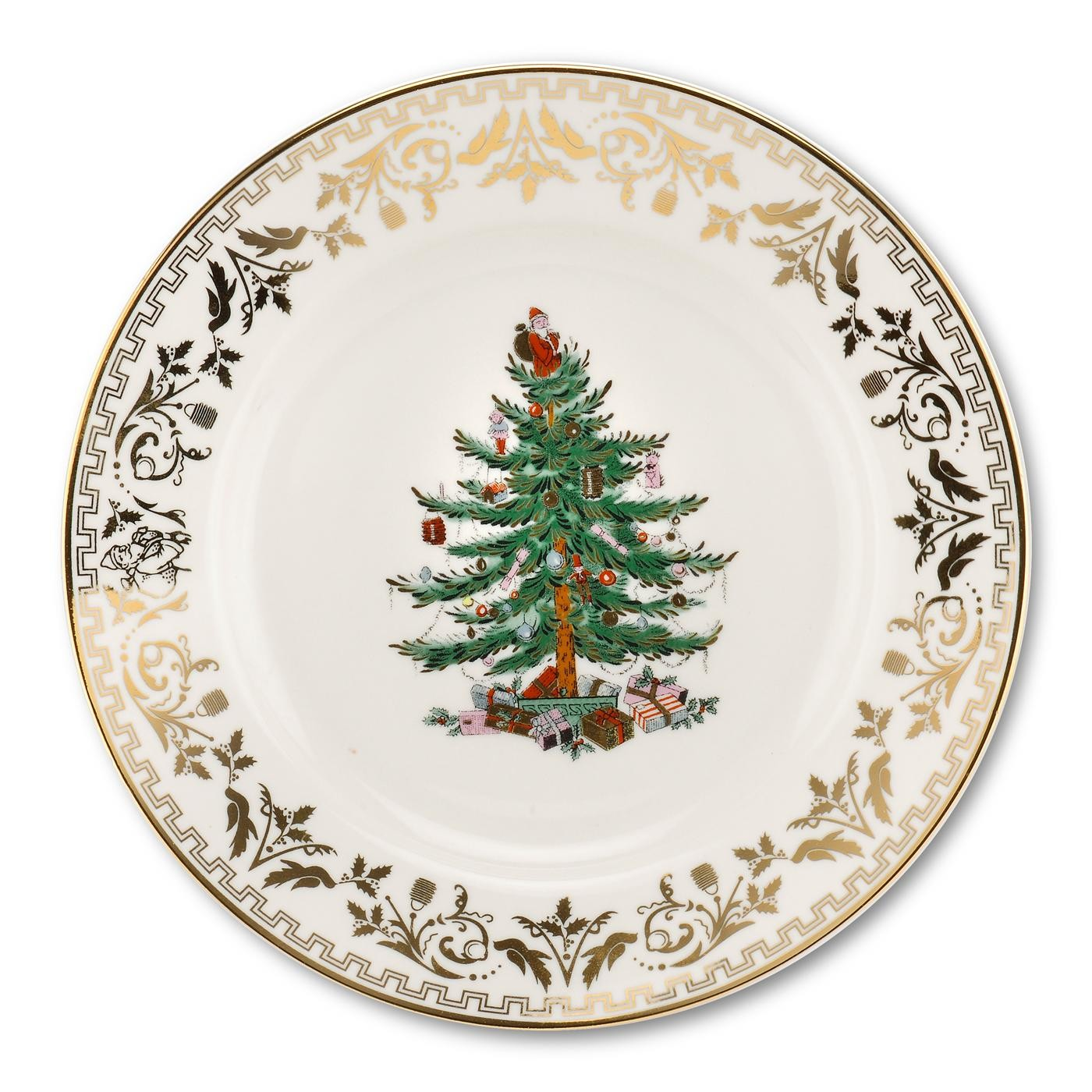 Spode Christmas Tree China Sale: Spode Christmas Tree Gold Salad Plate $20, You Save $20.00