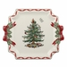 Spode Christmas Tree Gold Square Platter