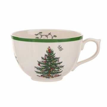 Spode Christmas Tree Jumbo Cup with Lid