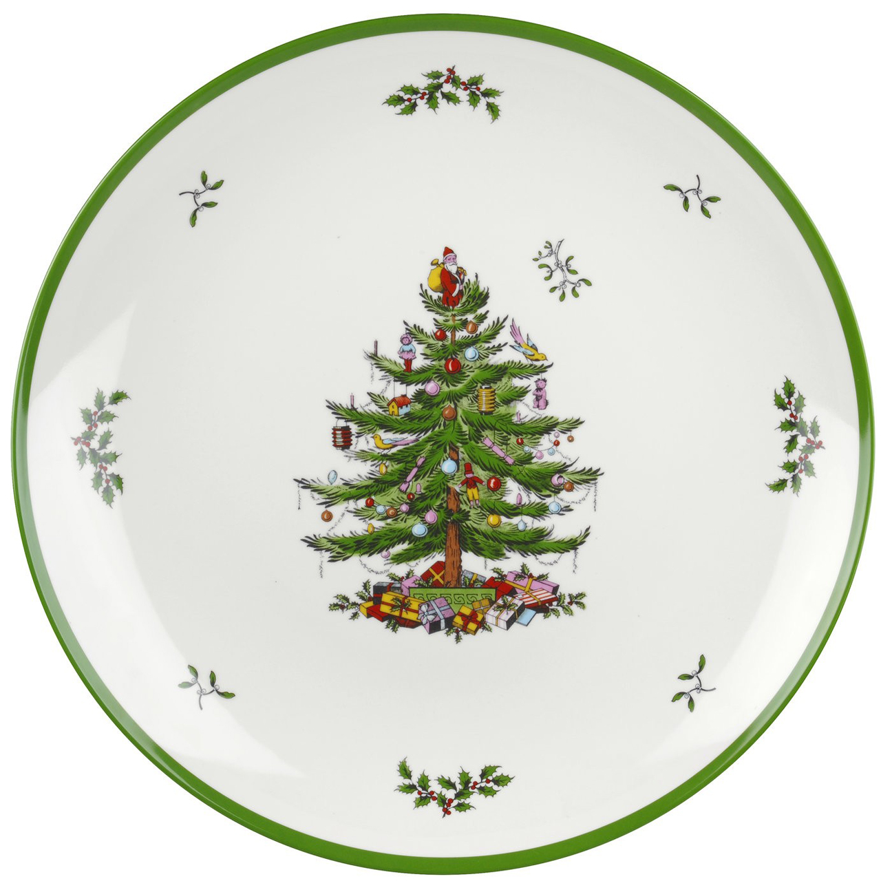Spode Christmas Tree China Sale: Spode Christmas Tree Melamine Round Platter $19.99, You