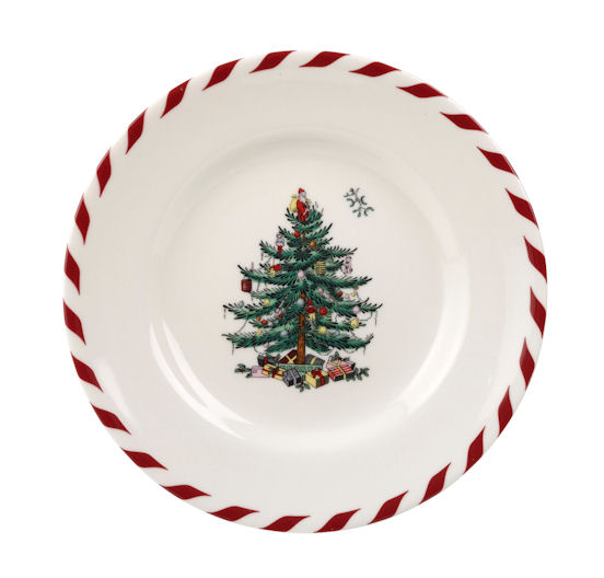 spode christmas tree peppermint canape plates set of 4 41